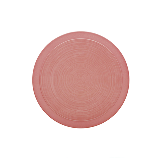 Bahia Round Plate - Pink 26cm