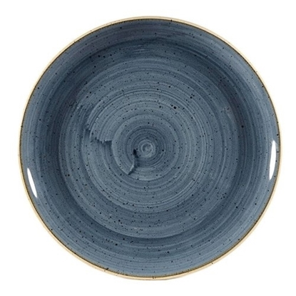 Stonecast Blueberry Coupe Plate