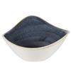 Stonecast Blueberry Triangle Bowl