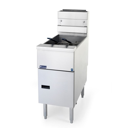 Picture of Pitco 4 Burner Natural Gas Fryer