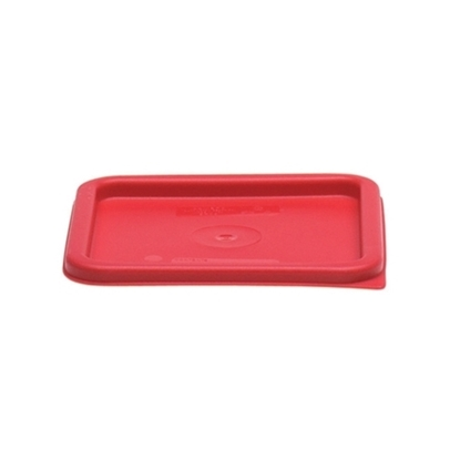 Cambro Red Lid for Camsqaure Containers
