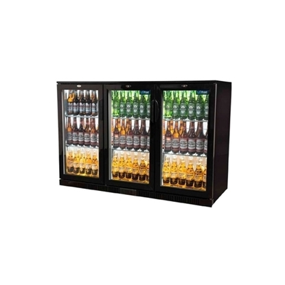 Picture of Unifrost Triple Door Bar Cooler Black