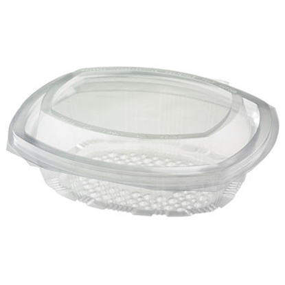 Oval Hinged Salad Container 500cc