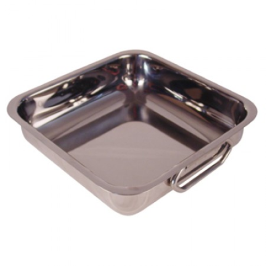 Stainless Steel Square Balti Dish 3.2L