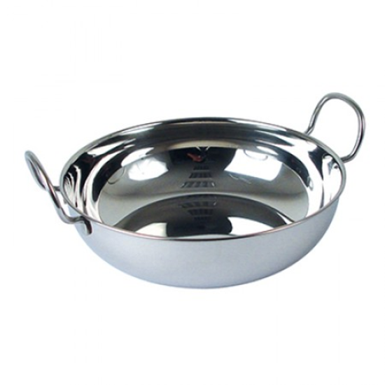 Stainless Steel Balti Dish 2.8L
