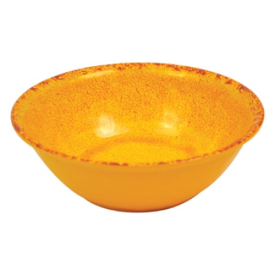 Orange Casablanca Melamine Bowl 1.3L