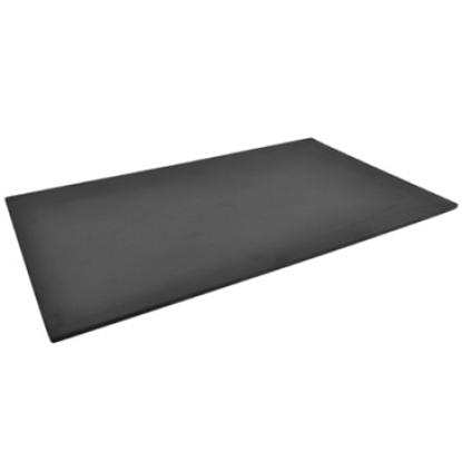 Black 1/1 size Slate Effect Melamine Tray w/sf