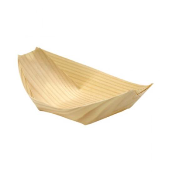 Mini Pinewood Boat 9 x 5cm