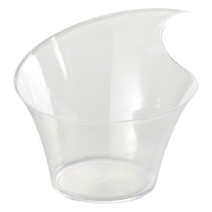 Wave Cup 80ml Transparent