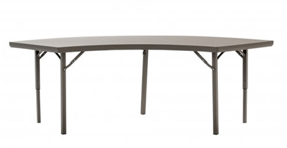 Picture of Crescent Shape Banqueting Table