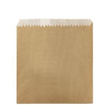 Greaseproof Lined Kraft Chip Bags