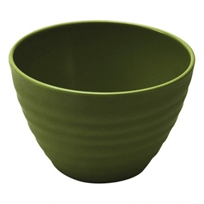 Dalebrook Green Melamine Rippled Bowl
