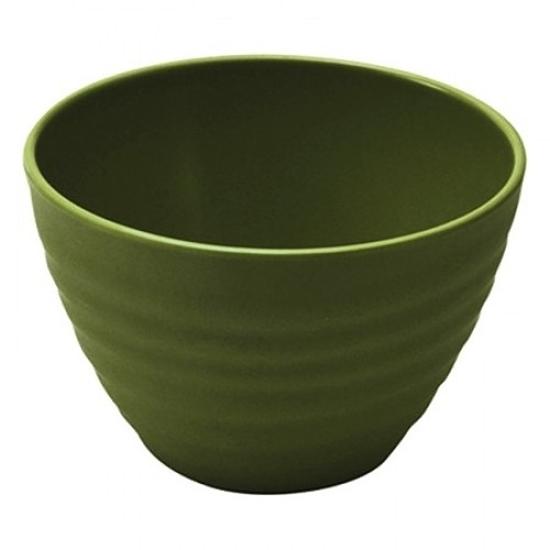 Dalebrook Green Melamine Rippled Bowl