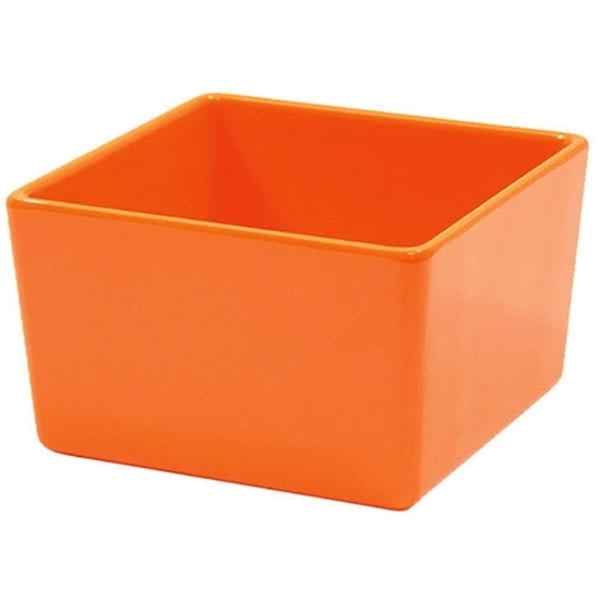 Tablecraft Straight Wall Melamine Bowl Orange