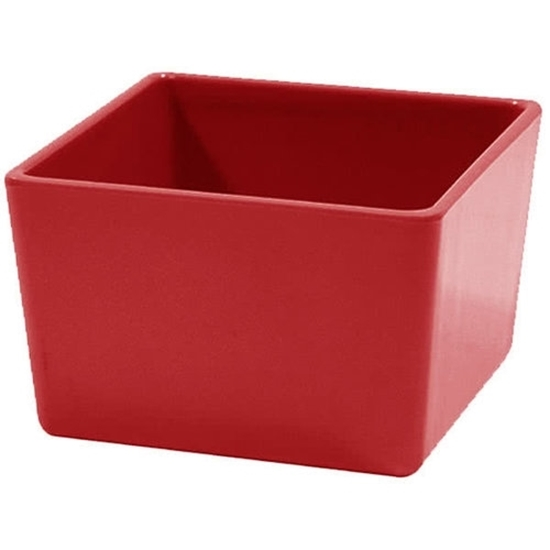 Tablecraft Straight Wall Melamine Bowl Red