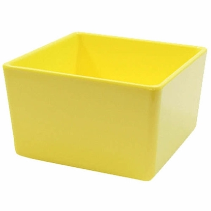Tablecraft Straight Wall Melamine Bowl Yellow