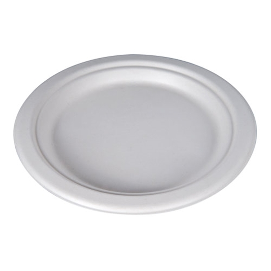 Compostable Bagasse Plate 9""