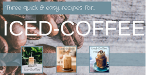 Three Quick & Easy Iced-Coffee Recipes
