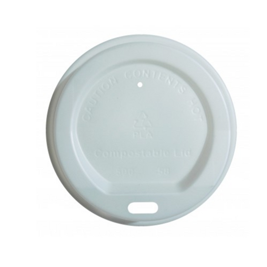 Picture of Compostable Coffee Cup Lid 8oz