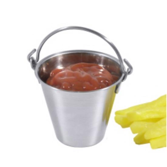 S/S Mini Sauce Bucket 6cm Dia