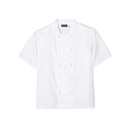 Picture of Coolback Chef Jacket Short Sleeve (M)
