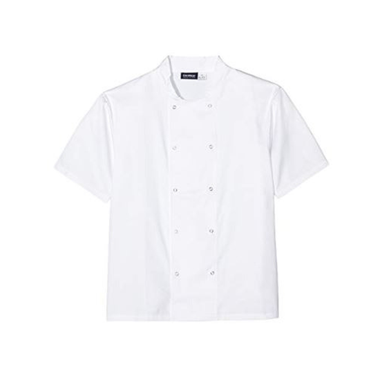 Genware Coolback Chef Jacket Short Sleeve