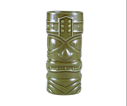 Tiki Mug Green TKM400GR