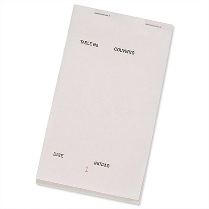 Picture of Waiter Pad 2 Sheet Carbonless 95mm x 165mm