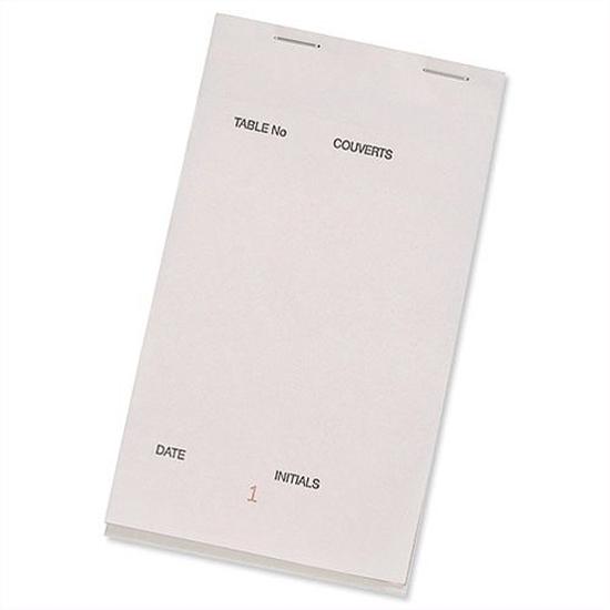 Waiter Pad 2 Sheet Carbonless