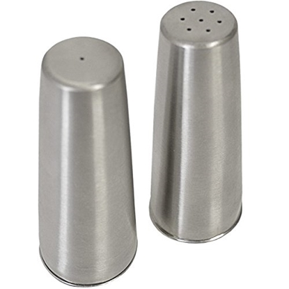 Picture of Stainless Steel Conical Condiment Set 8cm