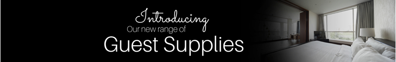 Introducing..Our New Range Of Guest Supplies