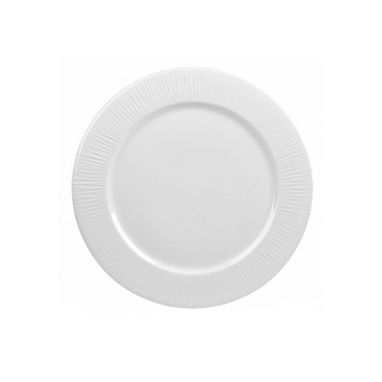 """Picture of Churchill Bamboo White Plate 12"""" (30.5cm)"""
