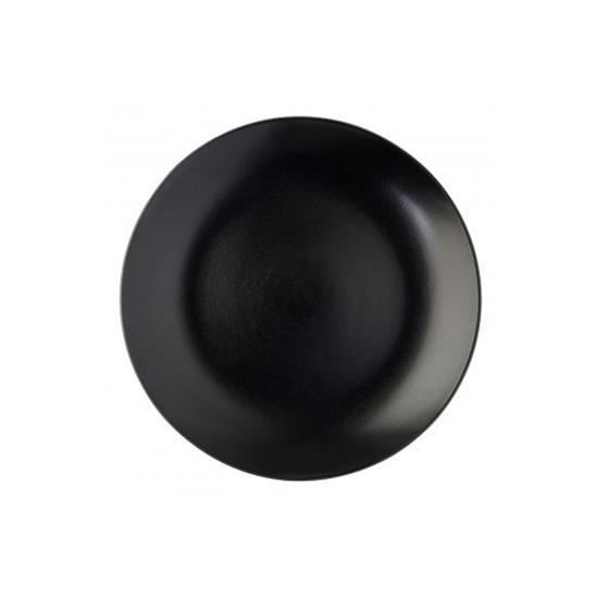 """Picture of Noir Coupe Plate 12"""" (30cm)"""
