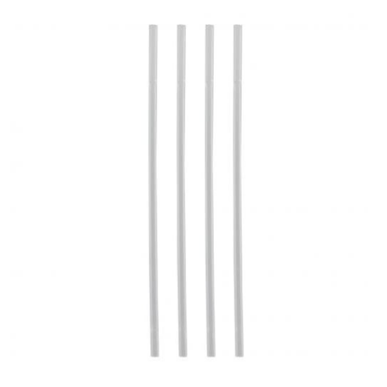 """Picture of Clear Compostable Sip Straws 5.5"""" (14cm)"""