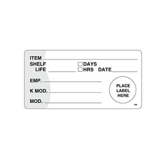 Picture of Use By Labels