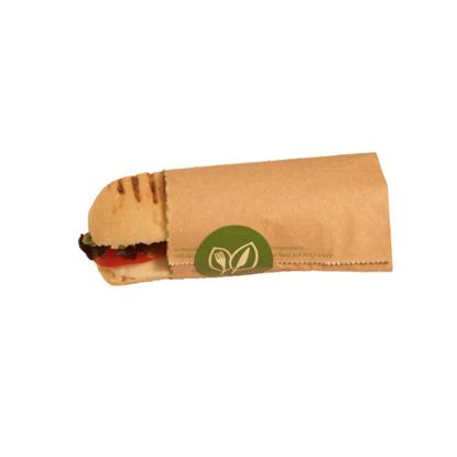 "Picture of Compostable Hot Baguette Pouch 8x10x9"" (20.3x25.4x22.9cm)"