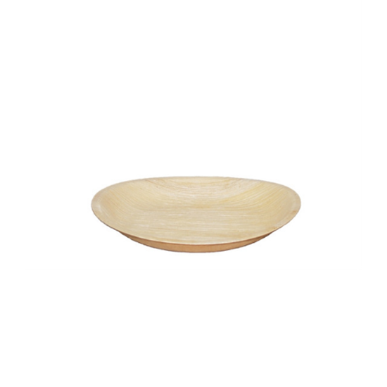 """Picture of Palm Leaf Round Plate 7.1"""" (18cm)"""