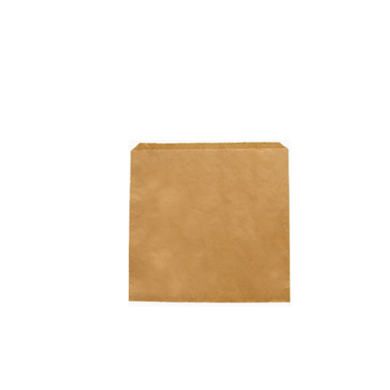 """Picture of Recycled Brown Kraft Flat Bag 8.5x8.5"""" (3.3x3.3cm)"""