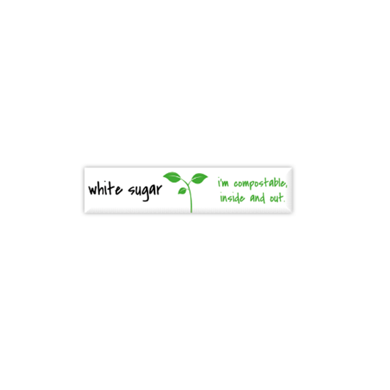 Picture of Compostable White Sugar Sticks
