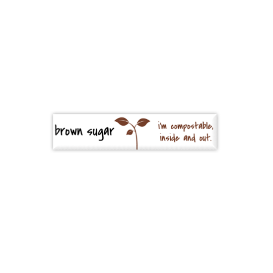Picture of Compostable Brown Sugar Stick