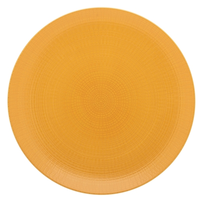 "Picture of Modulo Nature Ocre Mustard Dinner Plate 11"" (28cm)"