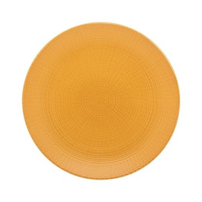 """Picture of Modulo Nature Ocre Mustard Dessert Plate 8.3"""" (21cm)"""