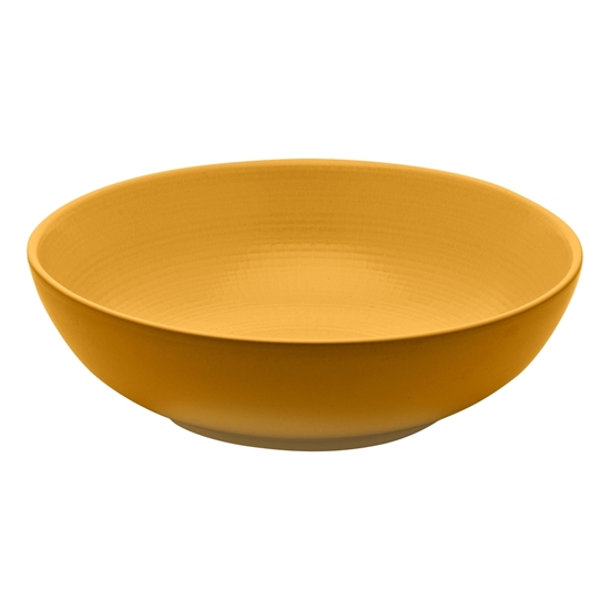 "Picture of Modulo Nature Ocre Mustard Salad Bowl 9.5"" (24cm)"