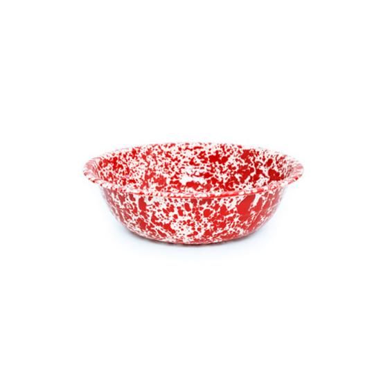 Enamel Splatterware Small Salad Bowl