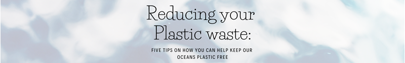 Reducing Your Plastic Waste: Five Tips On How You Can Keep Our Oceans Plastic Free