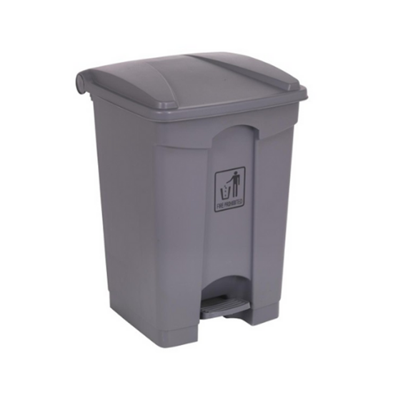 Picture of Grey Step On Pedal Bin, 30L