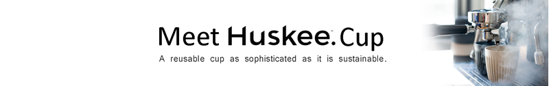 HuskeeCup: Reusable Coffee Cup
