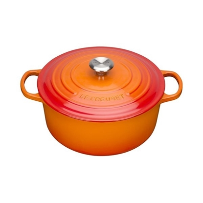 Picture of Le Creuset Volcanic Round Casserole Dish 1.8L