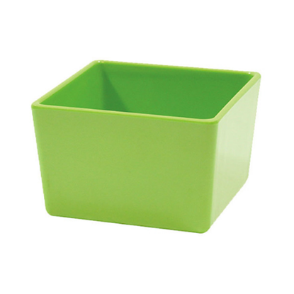 Melamine Straight Wall Bowl Lime Green