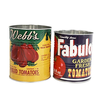 Small Chili Cans
